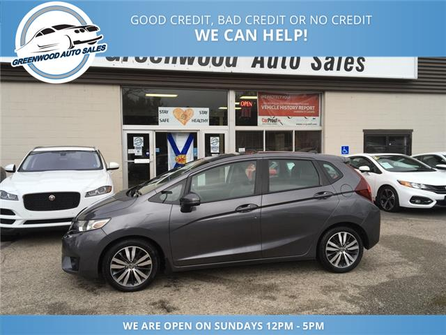 2015 Honda Fit EX-L Navi (Stk: 14-03273) in Greenwood - Image 1 of 23