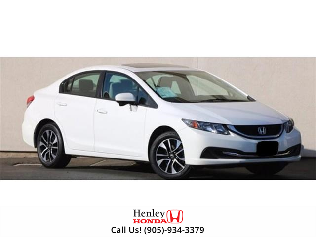 2015 Honda Civic Sedan NAV | LEATHER | HEATED SEATS | BACK UP (Stk: R9753) in St. Catharines - Image 1 of 1