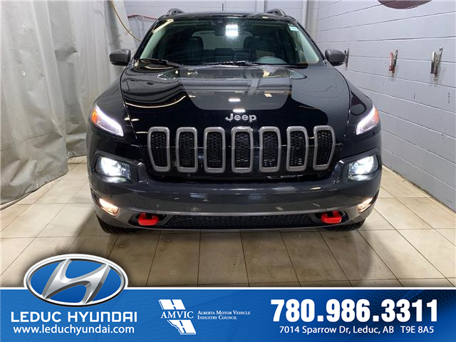 2018 Jeep Cherokee Trailhawk (Stk: PS0212A) in Leduc - Image 1 of 8