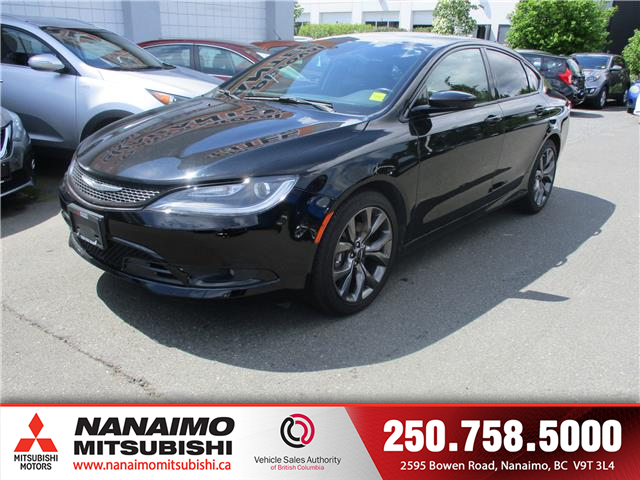2015 Chrysler 200 S (Stk: 20E1373A) in Nanaimo - Image 1 of 10
