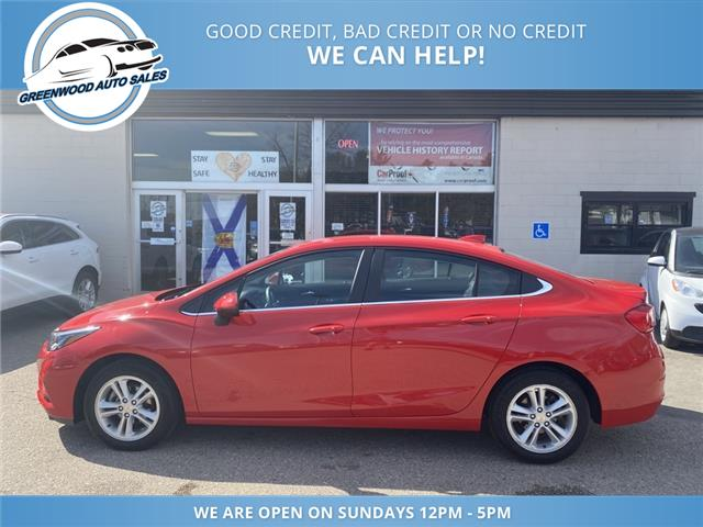 2017 Chevrolet Cruze LT Auto (Stk: 17-19431) in Greenwood - Image 1 of 24