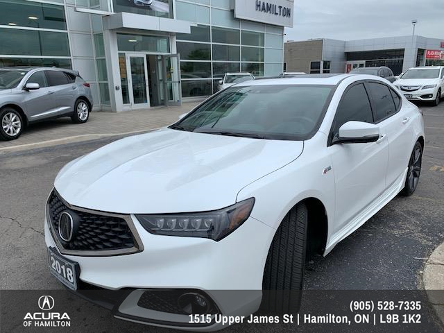 2018 Acura TLX Elite A-Spec (Stk: 200327A) in Hamilton - Image 1 of 25