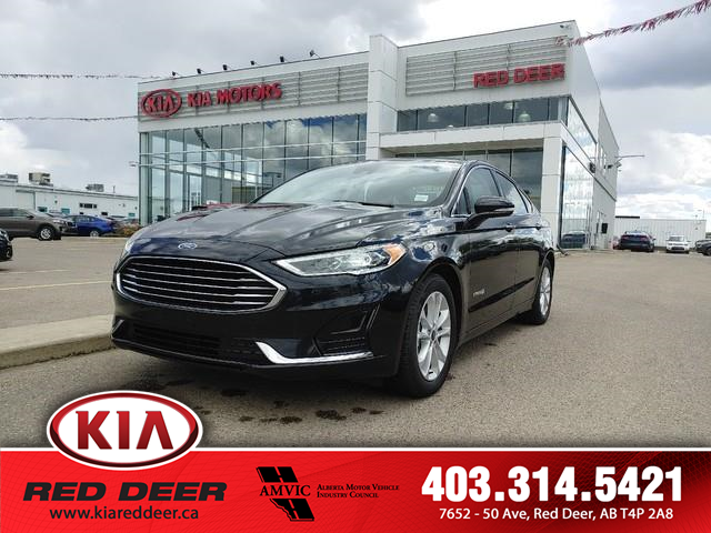 2019 Ford Fusion Hybrid SEL (Stk: L7747) in Red Deer - Image 1 of 14