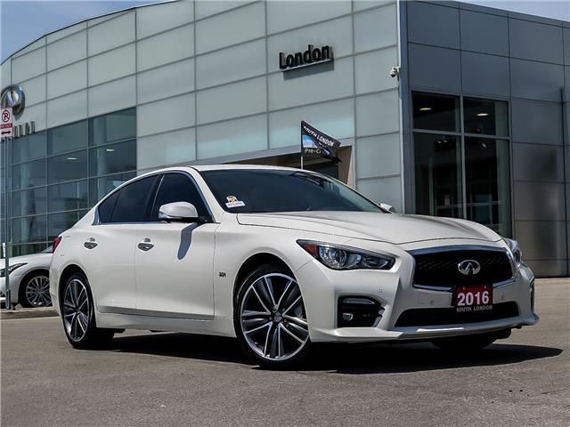 2016 Infiniti Q50 3.0T (Stk: 14391) in London - Image 1 of 26