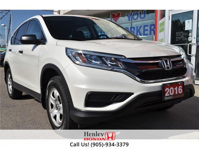 2016 Honda CR-V BLUETOOTH | HEATED SEATS | BACK UP (Stk: R9765) in St. Catharines - Image 1 of 24