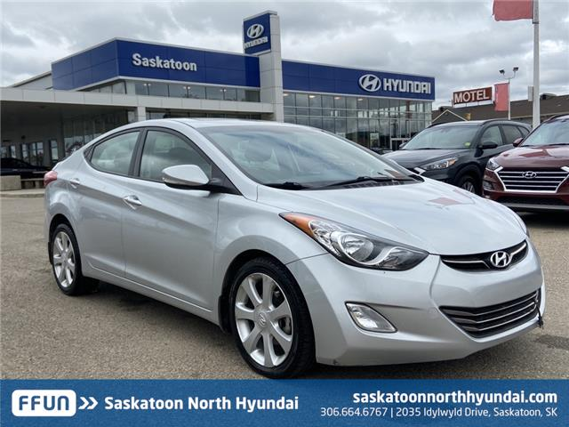 2013 Hyundai Elantra Limited (Stk: B7582A) in Saskatoon - Image 1 of 14