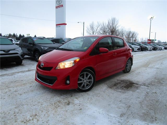 2012 Toyota Yaris SE (Stk: 1990541 ) in Moose Jaw - Image 1 of 22