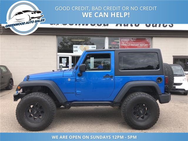 2014 Jeep Wrangler Sport (Stk: 14-01938) in Greenwood - Image 1 of 21