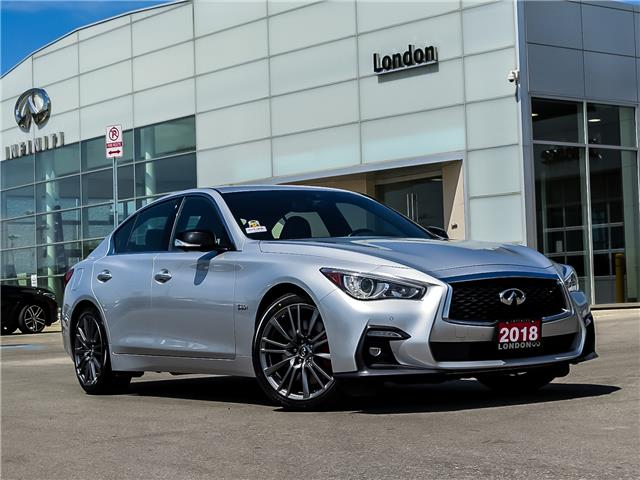 2018 Infiniti Q50 3.0t Red Sport 400 (Stk: 14398) in London - Image 1 of 26