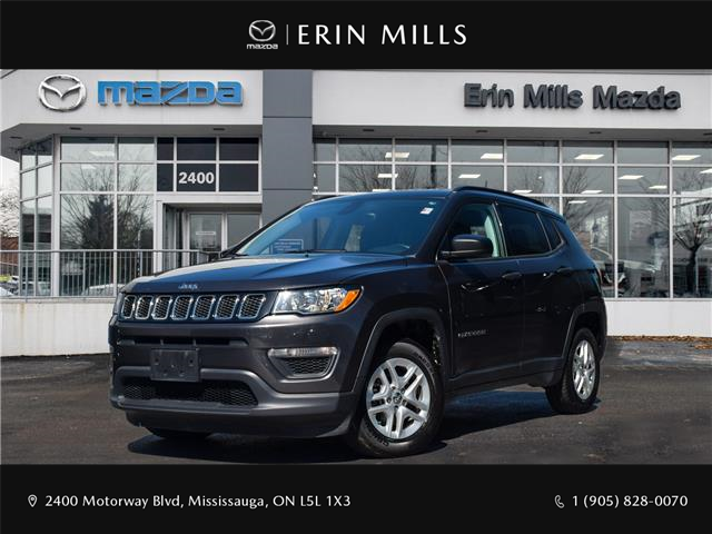 2018 Jeep Compass Sport (Stk: 20-0517A) in Mississauga - Image 1 of 25
