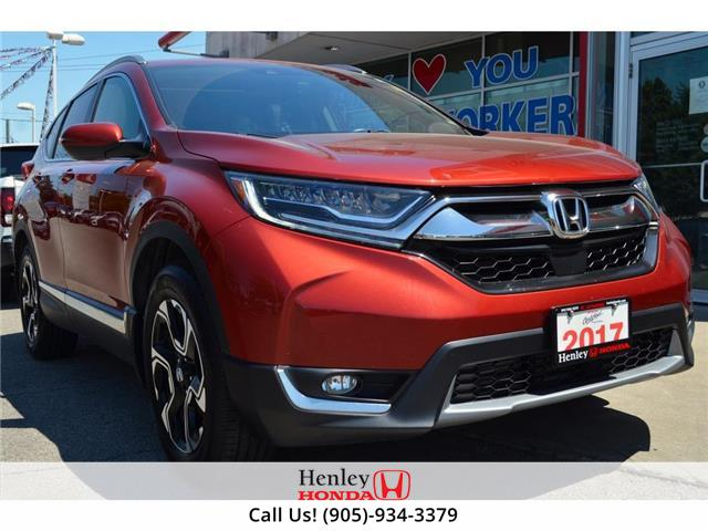 2017 Honda CR-V NAV | LEATHER | BACK UP | BLUETOOTH (Stk: R9786) in St. Catharines - Image 1 of 31