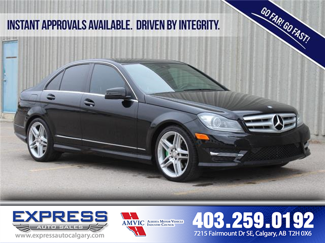 2013 Mercedes-Benz C-Class Base (Stk: P15-1226) in Calgary - Image 1 of 20
