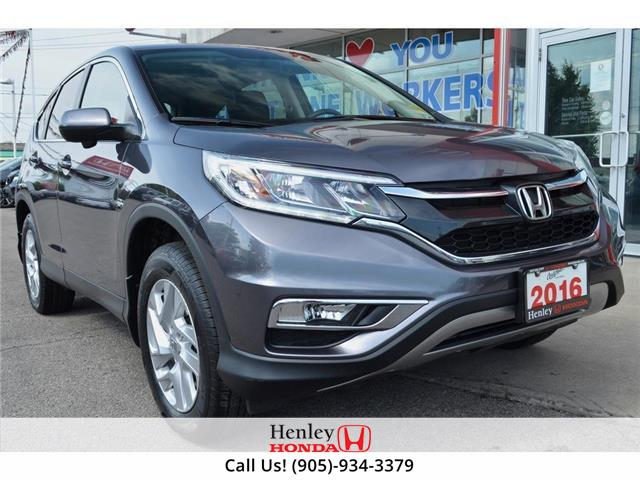 2016 Honda CR-V SUNROOF | BLUETOOTH | HEATED SEATS | BACK UP (Stk: R9800) in St. Catharines - Image 1 of 28