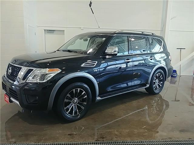 2017 Nissan Armada Platinum (Stk: A19036A) in Sault Ste. Marie - Image 1 of 27