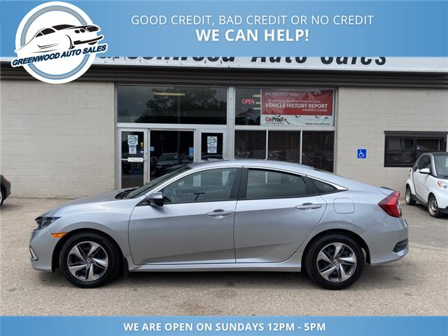 2020 Honda Civic LX (Stk: 20-06618) in Greenwood - Image 1 of 25