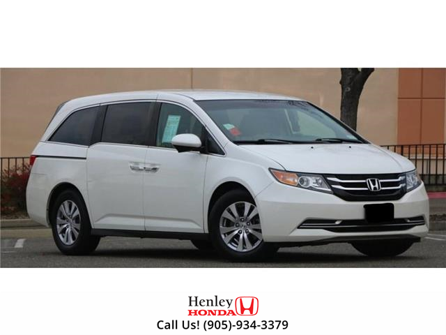 2016 Honda Odyssey LEATHER | HEATED SEATS | BACK UP | BLUETOOTH (Stk: H19016A) in St. Catharines - Image 1 of 1