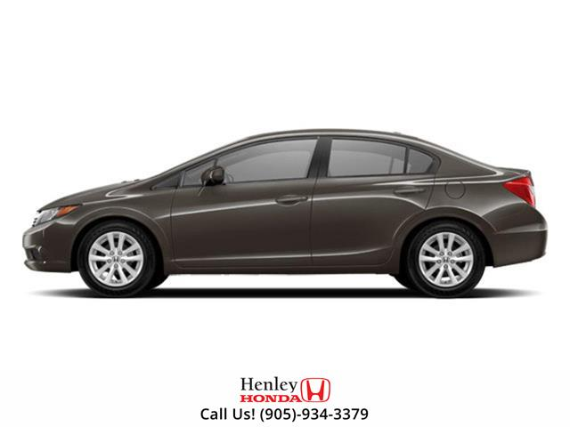 2012 Honda Civic SUNROOF | HEATED SEATS | BLUETOOTH (Stk: R9807A) in St. Catharines - Image 1 of 1