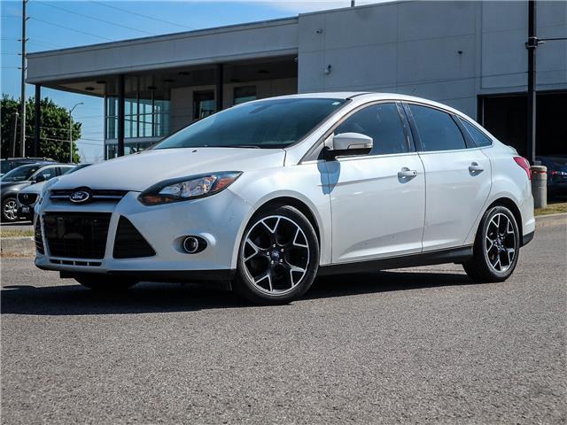 2012 Ford Focus Titanium (Stk: 20-1054A) in Ajax - Image 1 of 5