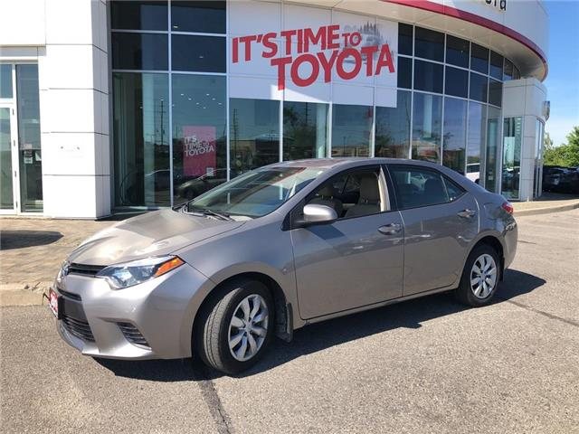 2015 Toyota Corolla LE (Stk: 317141) in Aurora - Image 1 of 19