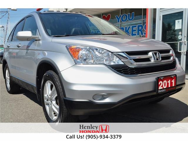 2011 Honda CR-V LEATHER | HEATED SEATS | SUNRIIF (Stk: H18777B) in St. Catharines - Image 1 of 26