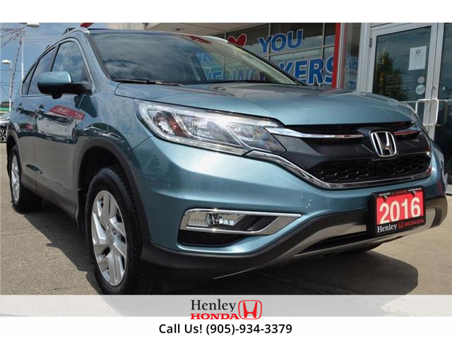 2016 Honda CR-V LEATHER | SUNROOF | ALLOYS | BACK UP CAMERA (Stk: R9810) in St. Catharines - Image 1 of 26