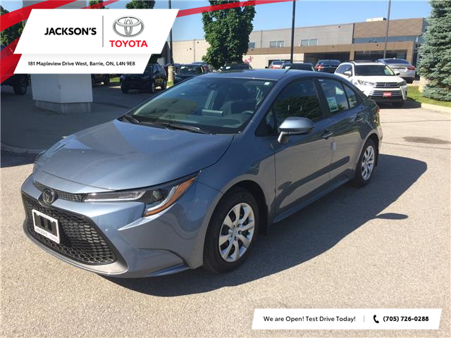 2020 Toyota Corolla LE (Stk: 9267) in Barrie - Image 1 of 12