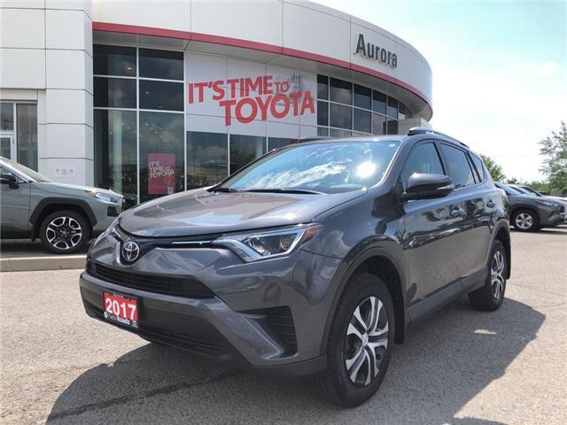 2017 Toyota RAV4 LE (Stk: 318481) in Aurora - Image 1 of 24