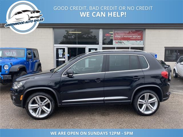 2015 Volkswagen Tiguan Highline (Stk: 15-06856) in Greenwood - Image 1 of 28