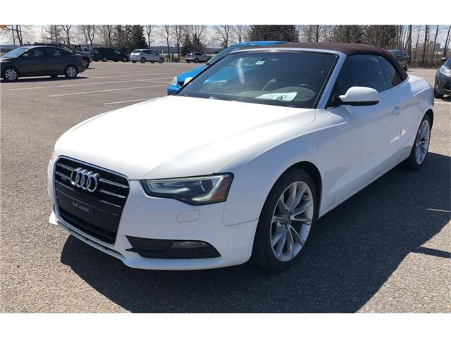 2013 Audi A5 Cabriolet 2.0T quattro Tiptronic (Stk: p20-169) in Dartmouth - Image 1 of 5