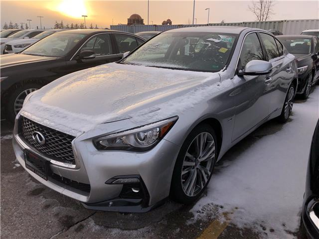 2019 Infiniti Q50 3.0t Signature Edition (Stk: G19001) in London - Image 1 of 5