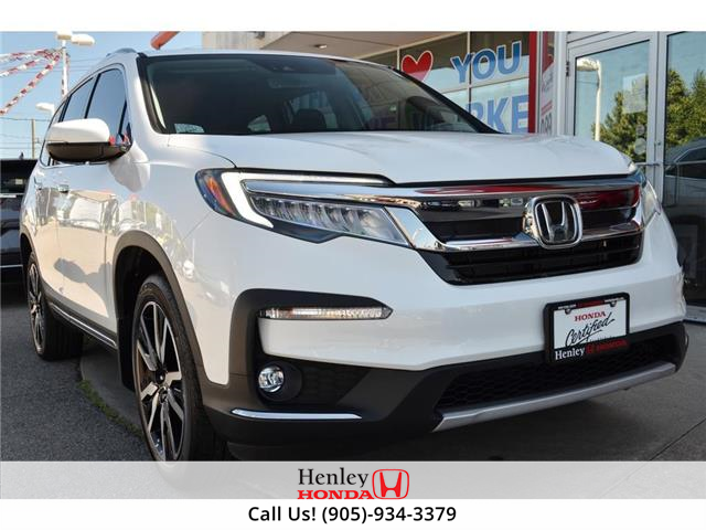 2020 Honda Pilot 8P | NAV | LEATHER | COOLED SEATS | BLUETOOTH (Stk: H18595A) in St. Catharines - Image 1 of 36