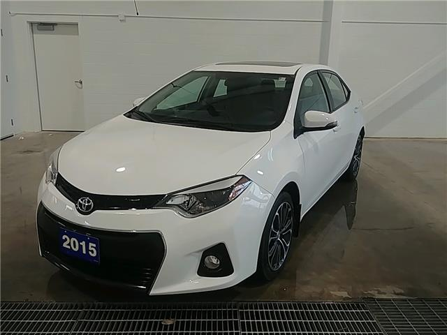 2015 Toyota Corolla S (Stk: A19071A) in Sault Ste. Marie - Image 1 of 14