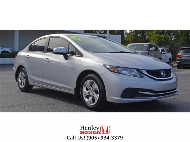 2015 Honda Civic Sedan BLUETOOTH | REAR CAM | HEATED SEATS (Stk: R9848) in St. Catharines - Image 1 of 1