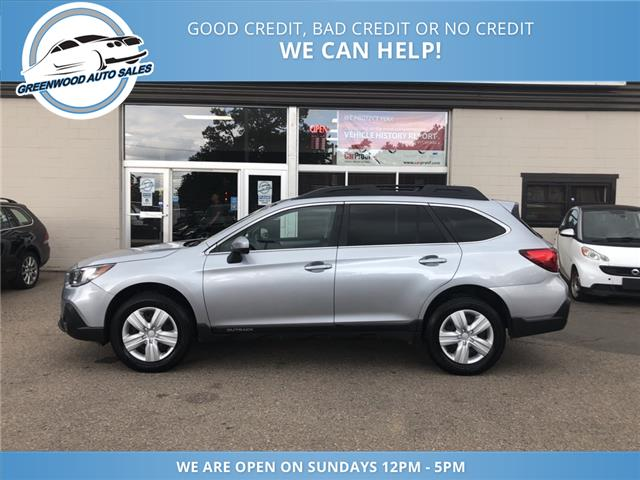 2018 Subaru Outback 2.5i (Stk: 18-47540) in Greenwood - Image 1 of 21