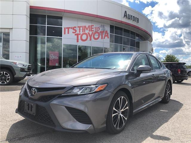 2018 Toyota Camry SE (Stk: 003916) in Aurora - Image 1 of 16