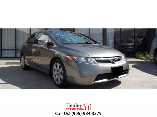 2007 Honda Civic 4dr AT DX-G (Stk: H19078A) in St. Catharines - Image 1 of 1
