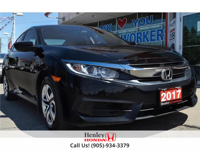 2017 Honda Civic Sedan BLUETOOTH | REAR CAM | HEATED SEATS (Stk: R9847) in St. Catharines - Image 1 of 21