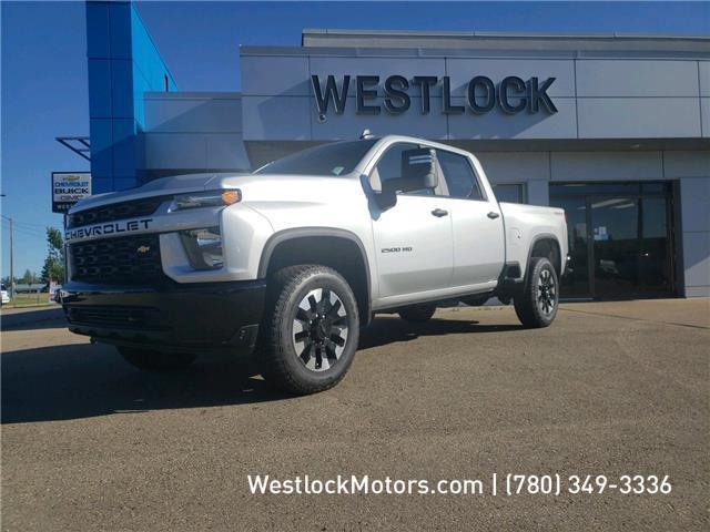 2020 Chevrolet Silverado 2500HD Custom (Stk: 20T170) in Westlock - Image 1 of 19