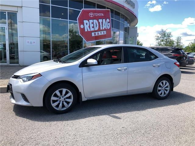 2016 Toyota Corolla LE (Stk: 6734) in Aurora - Image 1 of 22