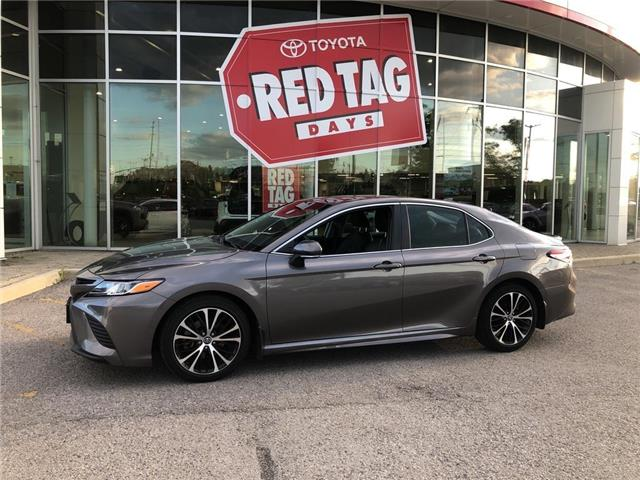 2018 Toyota Camry SE (Stk: 003916) in Aurora - Image 1 of 30