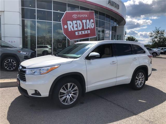 2016 Toyota Highlander XLE (Stk: 318301) in Aurora - Image 1 of 26