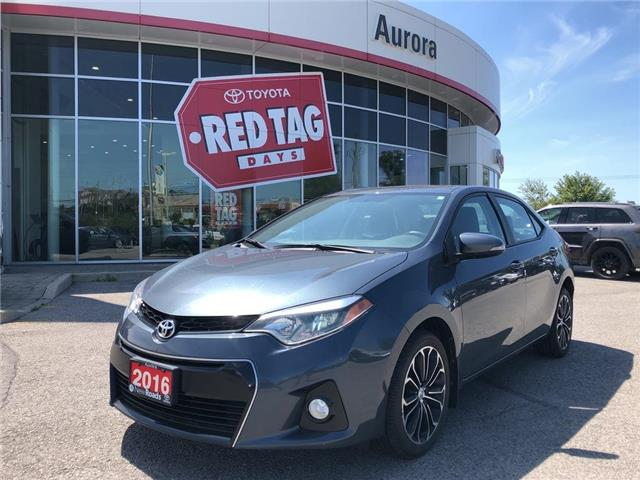 2016 Toyota Corolla S (Stk: 6727) in Aurora - Image 1 of 25