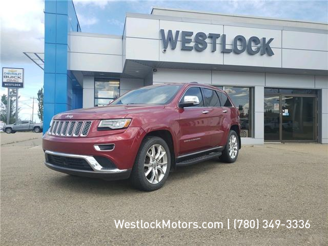 2014 Jeep Grand Cherokee Summit (Stk: 20T18A) in Westlock - Image 1 of 15