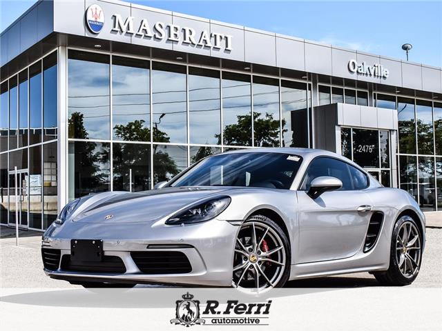 2018 Porsche 718 Cayman Base (Stk: U504) in Oakville - Image 1 of 30