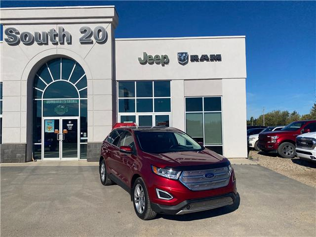 2017 Ford Edge Titanium (Stk: B0137) in Humboldt - Image 1 of 22