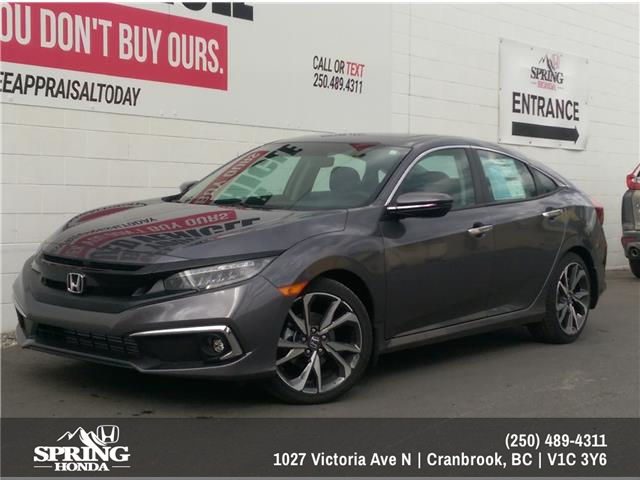 2020 Honda Civic Touring (Stk: H04488) in North Cranbrook - Image 1 of 1