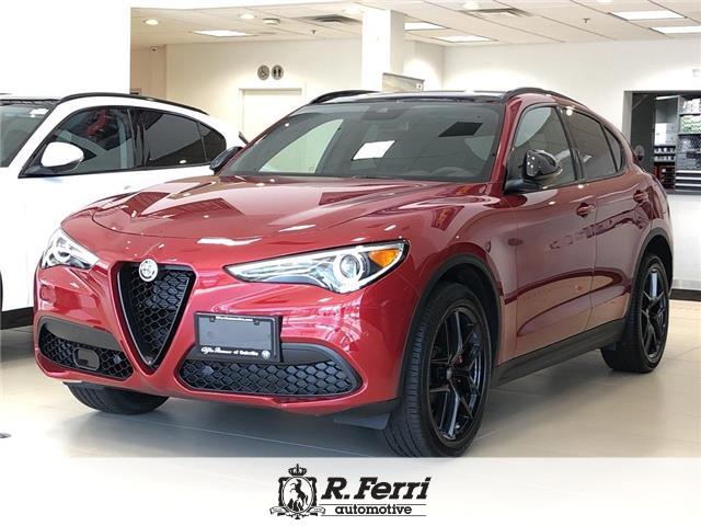 2019 Alfa Romeo Stelvio ti (Stk: 385AR) in Oakville - Image 1 of 17