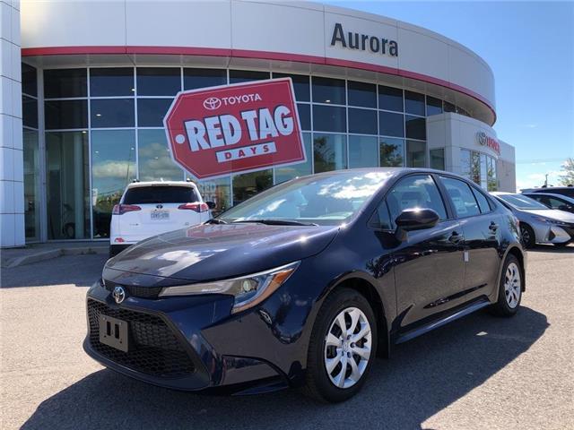 2020 Toyota Corolla  (Stk: 31909) in Aurora - Image 1 of 15