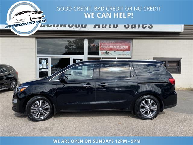 2019 Kia Sedona SX (Stk: 19-52182) in Greenwood - Image 1 of 28