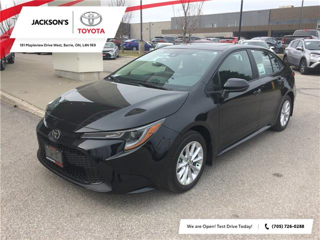 2020 Toyota Corolla LE (Stk: 6303) in Barrie - Image 1 of 14
